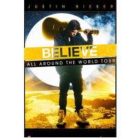 輸入ポスター Justin Bieber ジャスティン・ビーバー World Tour (2147) 610mm×915mm