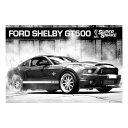 生活雑貨 フォード シェルビー GT500 スーパースネーク ポスター ポストカード