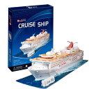 3D立体パズル 豪華客船 86ピース C116h