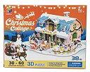 立体パズル 3Dパズル クリスマスコテージ3
