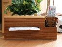 cocoshi ウッド ティッシュケースWood Tissue Case
