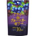 新日配薬品 アサイー&ブルーベリーゼリー 10gX7