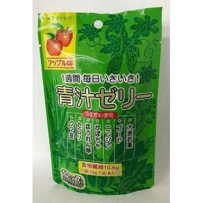新日配薬品 フルーツ青汁ゼリー 7包 10gX7