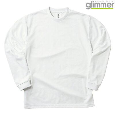 グリマー GLIMMER ドライロングスリーブTシャツ 30400123