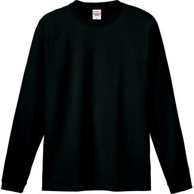 Printstar プリントスター 6.6オンス ハイグレード長袖Tシャツ 00159-HGL 005 ブラック 03 L