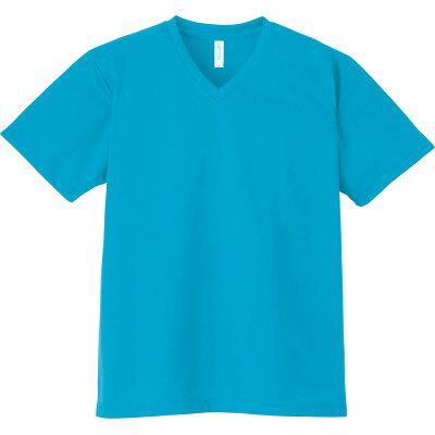 トムス toms4.4オンス ドライvネックtシャツ 00337-avt bigサイズ00337b ターコイズ