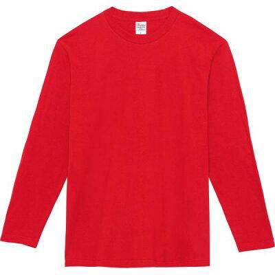 トムス TOMS 5.6オンス ヘビーウェイト長袖Tシャツ 00102 CVL 110 150 00102CA レッド 130