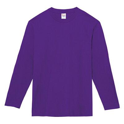 トムス TOMS 5.6オンス ヘビーウェイト長袖Tシャツ 00102 CVL 110 150 00102CA パープル 130