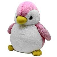 オーロラワールド パウダーキッズ ペンギン L ピンク ぬいぐるみ