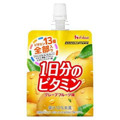 パーフェクトビタミン 1日分のビタミンゼリー グレープフルーツ(180ml)