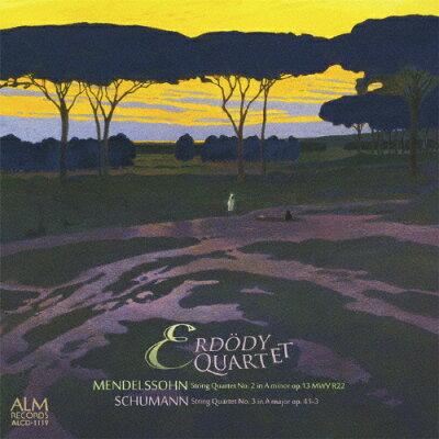 メンデルスゾーンからシューマンへ ロマン派弦楽四重奏の系譜 アルバム ALCD-1119