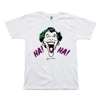 MLE DC COMIC シリーズ Tシャツ ジョーカーイラスト/白-M メディコム・トイ