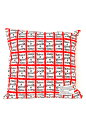 FABRICK(R) HAVE A GOOD TIME - HGT SUQUARE CUSHION COVER+PILLOW