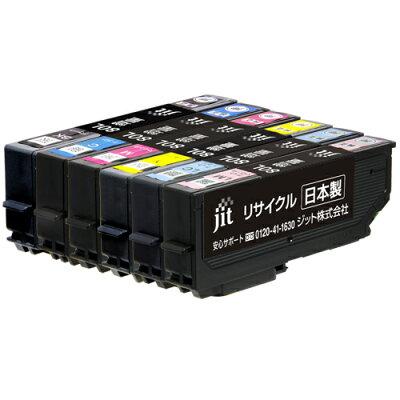 ジット リサイクル インクカートリッジ エプソン インクカートリッジ JIT-AE80L6P 6色