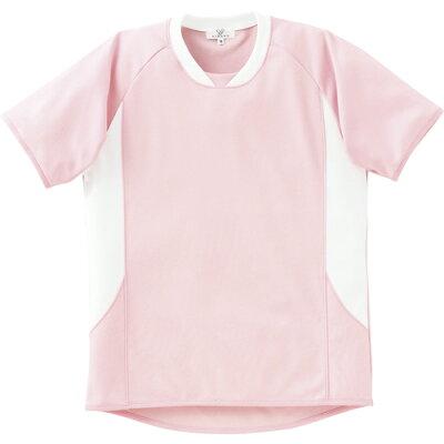 トンボ 入浴介助用Tシャツ ピンク LLサイズ CR108-11-LL