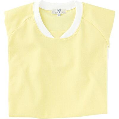 トンボ 入浴介助用Tシャツ クリーム Sサイズ CR108-32-S