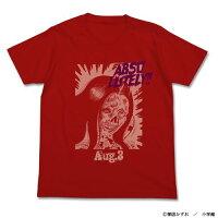 恐怖 ABSOLUTELY Tシャツ/レッド-L コスパ