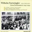 フルトヴェングラー・グレイト・パフォーマンシズ・オブ・1942-1944 歌劇《魔弾の射手》序曲/ハイブリッドCD/DLCA-7009