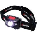 マクロス 発光4パターン 赤色灯付きヘッドライト MEL-182(1個)