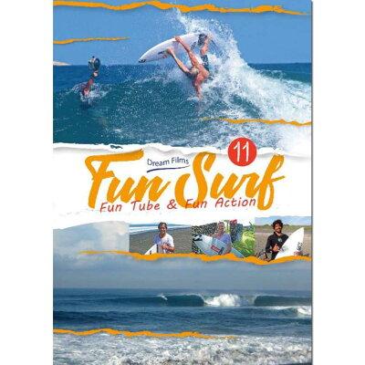 SURF DVD FUN SURF 11 FUN TUBE&FUN ACTION シリーズの最 サーフィンDVD