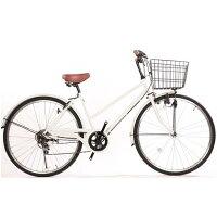 Lupinus (ルピナス) シマノ製外装6段ギア付き自転車 26インチ