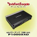 ロックフォード RockfordFosgate PUNCH P1000X4D 定格出力150W×4ch ClassDパワーアンプ