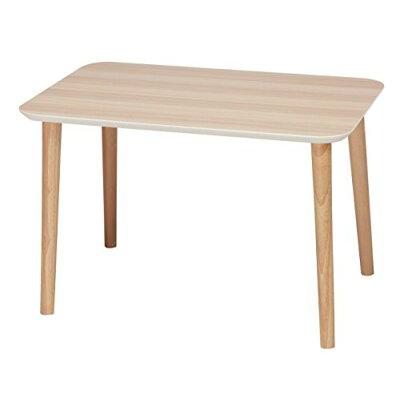 木目鏡面トールテーブル 60 nk-622 ナチュラル