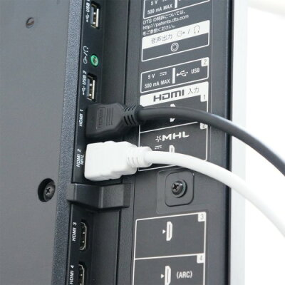 ハイスピードHDMI標準ケーブル(タイプA)プラスティックモールド 5m ブラック(1本入)
