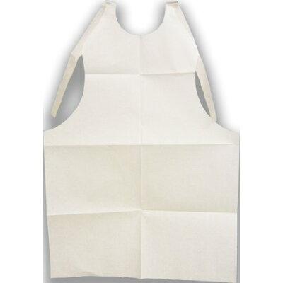 使い捨て 紙エプロン 中サイズ 100枚入