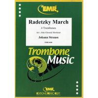 楽譜 ラデツキー行進曲 RADETZKY MARCH 4 Tbn 輸入楽譜