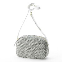 HARRIS Tweed(ハリスツイード)丸型ショルダーバッグ グレー