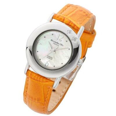 Alessandra Olla (アレサンドラ・オーラ) 腕時計 ダイヤ2石 AO-6900 OR レディース