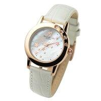 アレサンドラオーラ Alessandra Olla 腕時計 レディースウォッチ シューティングスター ホワイト AO-810 WH レディース