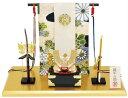 五月人形 金色兜飾り(弓太刀付)