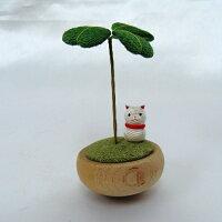 リュウコドウ ゆらゆらクローバー 猫