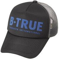 エバーグリーン B-TRUE ベーシックメッシュキャップ フリー ブラック/グレー