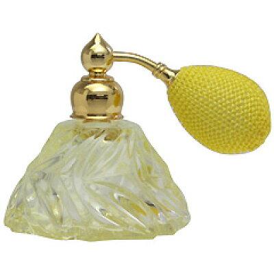 カラフル クリスタルアトマイザ― ドイツ製 クリスタル香水瓶 28078 クリスタル イエロー 25ml