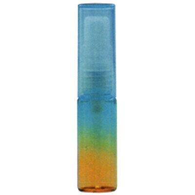 グラデーションカラ― ガラスアトマイザ― 48075 カラーAT ブルー/オレンジ 4ml
