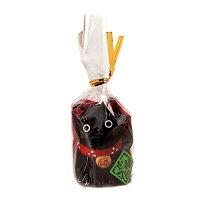 錦彩福おいで招き猫 小 黒 AM-Y7111