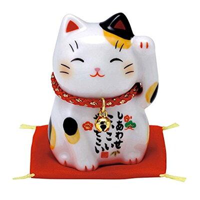 彩絵 福 招き猫 みけ 7531