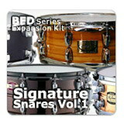 FXpansion BFD Signature Snares Vol.1 簡易パッケージ