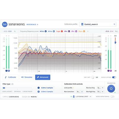 Sonarworks ソナーワークス Reference 4 Studio edition with mic - boxedSW4SXLR DAW DTM