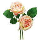 E3555 ローズブーケ PEACH/157-3555-13 造花 バラ ローズ