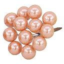 E6338 12MMパールベリー ORANGE/157-6338-7 花 資材 アクセサリー ボール、パール
