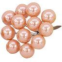 E6339 16MMパールベリ ORANGE/157-6339-7 花 資材 アクセサリー ボール、パール
