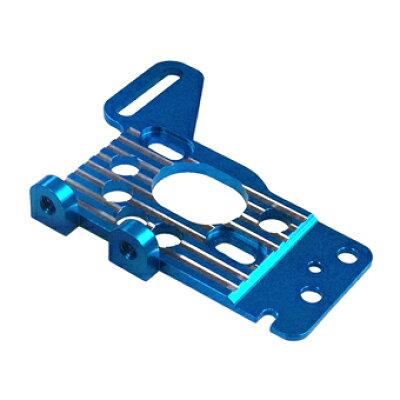 SPヒートシンクモーターマウント R31用 ライトブルー R31-18-LBL
