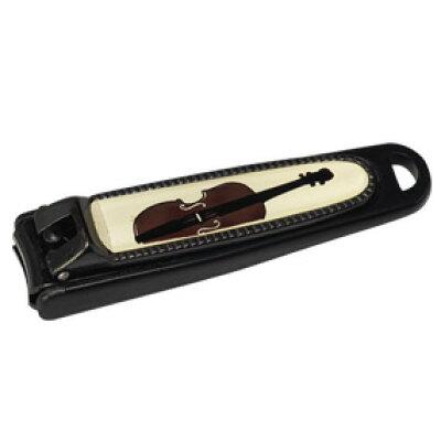 ナカノ 爪切り バイオリン NC-65/VI/BL ブラック