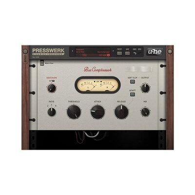 u-he ユーヒー / Presswerk ダイナミクスプロセッサー ダウンロード版