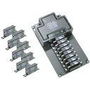 ジョブル 8chイーサネット・電源 同軸ケーブル伝送装置 VDL43000