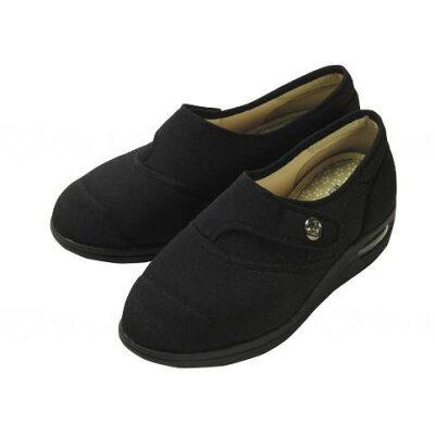 マリアンヌ製靴 彩彩ちりめん W1100 ブラック 24.0
